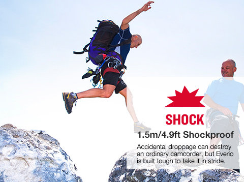SHOCK 1.5m/4.9ft Shockproof