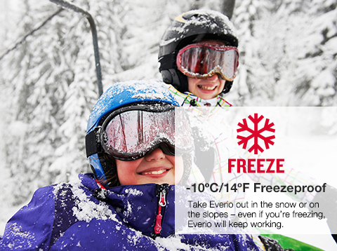 FREEZE -10ºC/14ºF Freezeproof